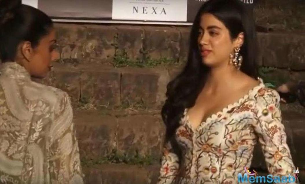 Janhvi is about to make her debut soon in the Karan Johar produced Dhadak, and mother Sridevi does not want too much exposure for her daughter at the moment.