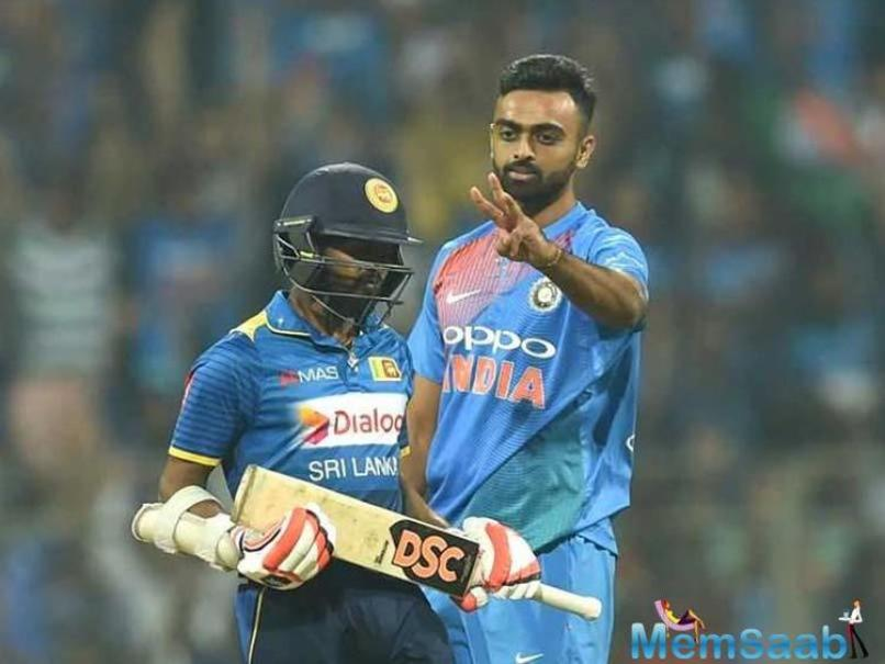 Rohit Sharma was the first to depart in the Indian run chase, and was followed by the dismissals of Shikhar Dhawan and Suresh Raina.