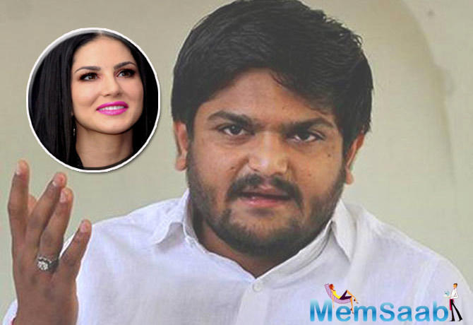 Sunny Leone has found a supporter in Patidar quota leader Hardik Patel who today said she deserved respect, irrespective of her past, like any other Bollywood actress.