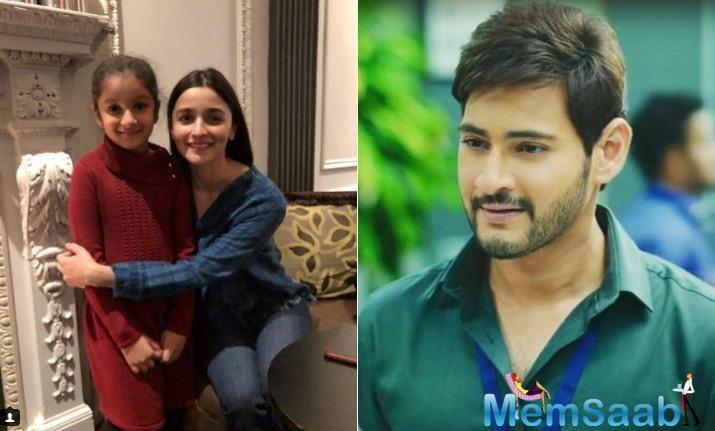 Mahesh Babu is currently in New York shooting for Vamshi Paidipally's Maharshi. For the 10-day schedule the actor is accompanied by his wife Namrata Shirodkar and their two children Gautam and Sitara.