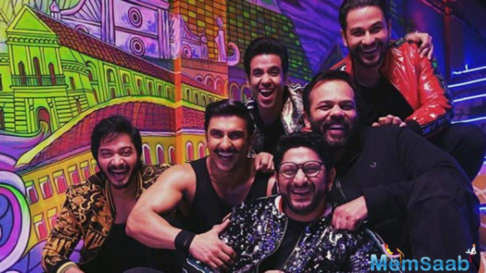 Arshad says the atmosphere on set was such that the team could have easily shot the next Golmaal instalment.