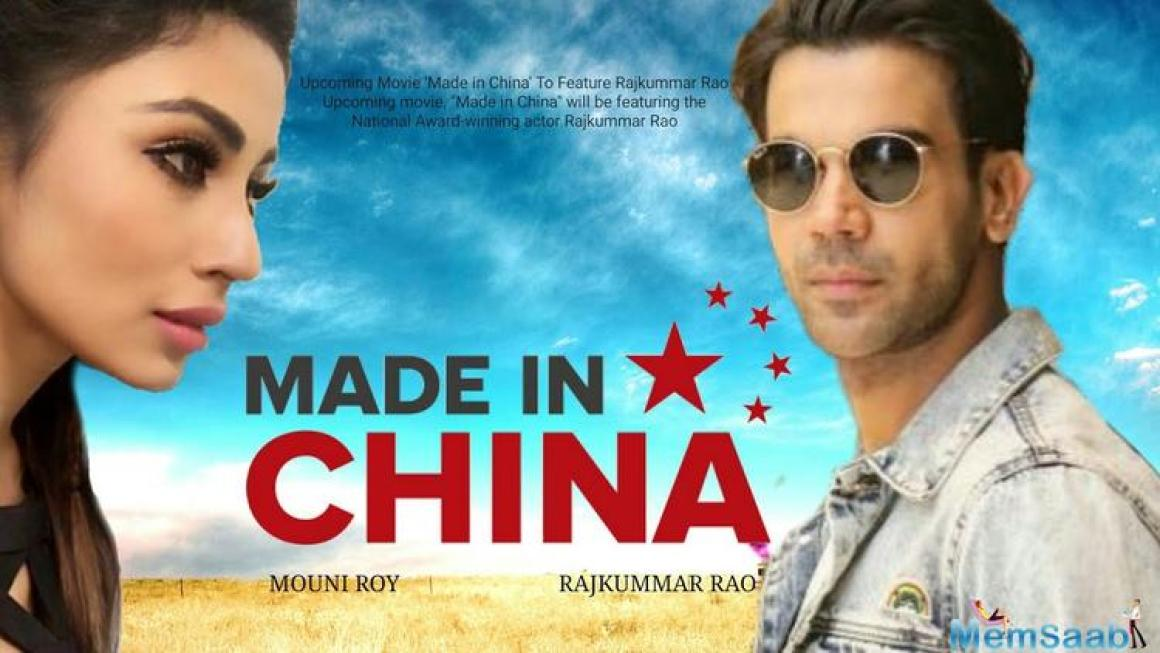 Starring Mouni Roy as Rao's wife (Rukmini), the film is based on the life of a struggling Gujarati businessman, Raghu (Rajkummar Rao), who embarks on a journey to China in order to make his business flourish.