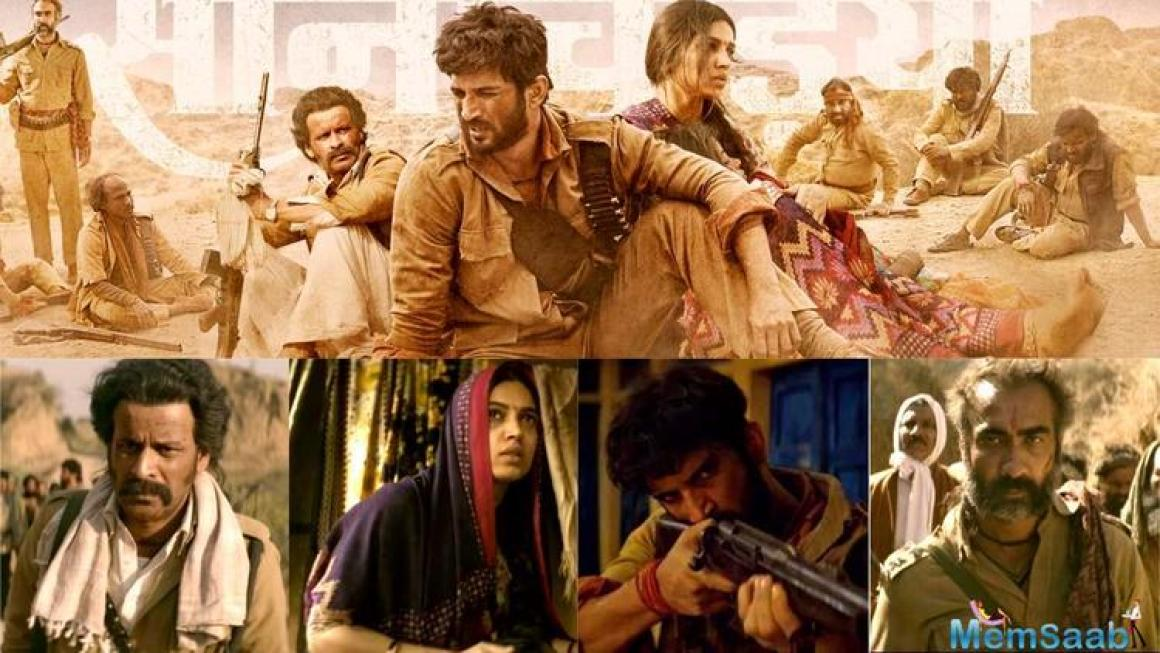 Sushant Singh Rajput starrer Sonchiriya is all set to release on March 1, 2019. The makers of 'Sonchiriya' took to their official handle and posted an intriguing poster.