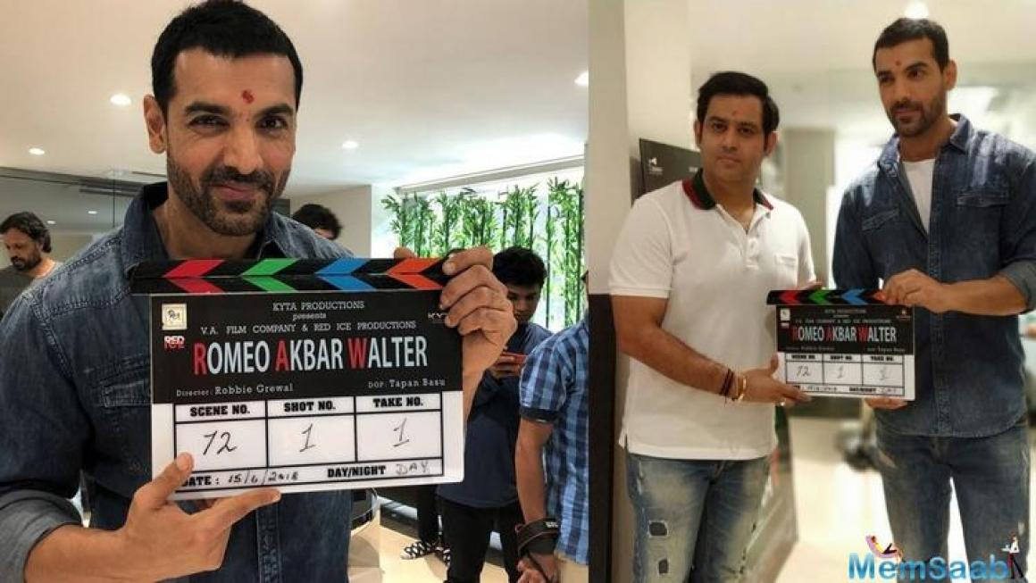 Being directed by Robbie Grewal, this is John Abraham's second collaboration with producer Ajay Kapoor after Parmanu and is set to release on April 12.