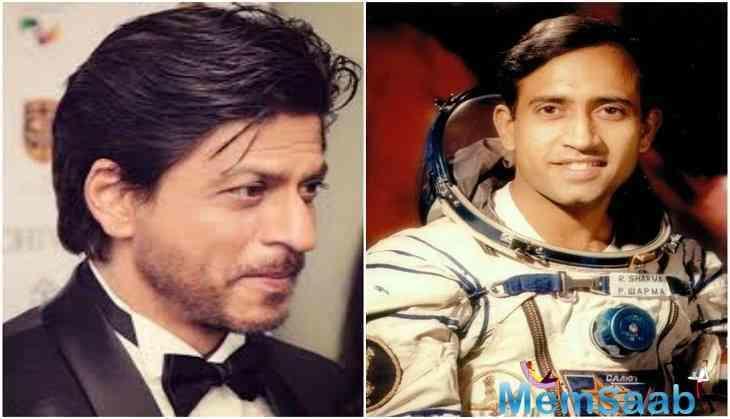 King Khan Shah Rukh Khan's decision to play astronaut Rakesh Sharma in latter's biopic made headlines.