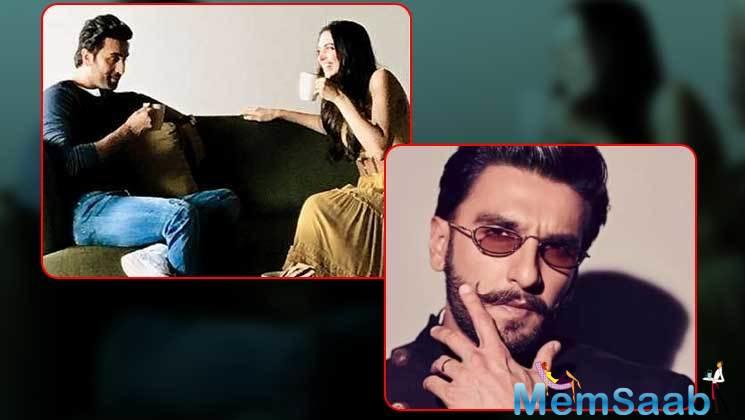 Deepika Padukone's fan club shared a picture of the two brewing some conversations over their cup of coffee. The two naturally complement each other onscreen.