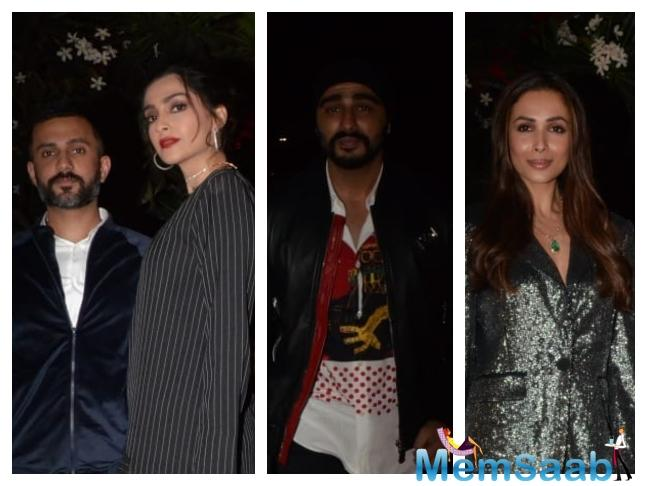 Reportedly, In one such Bollywood party, Malaika was too drunk and when Arjun's cousin Sonam K Ahuja tried to offer help to her, Malaika asked the actor to stay away.