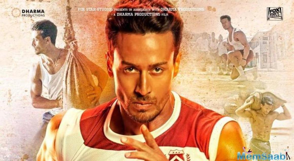Karan Johar also shared Tiger Shroff's poster from the film. He wrote,