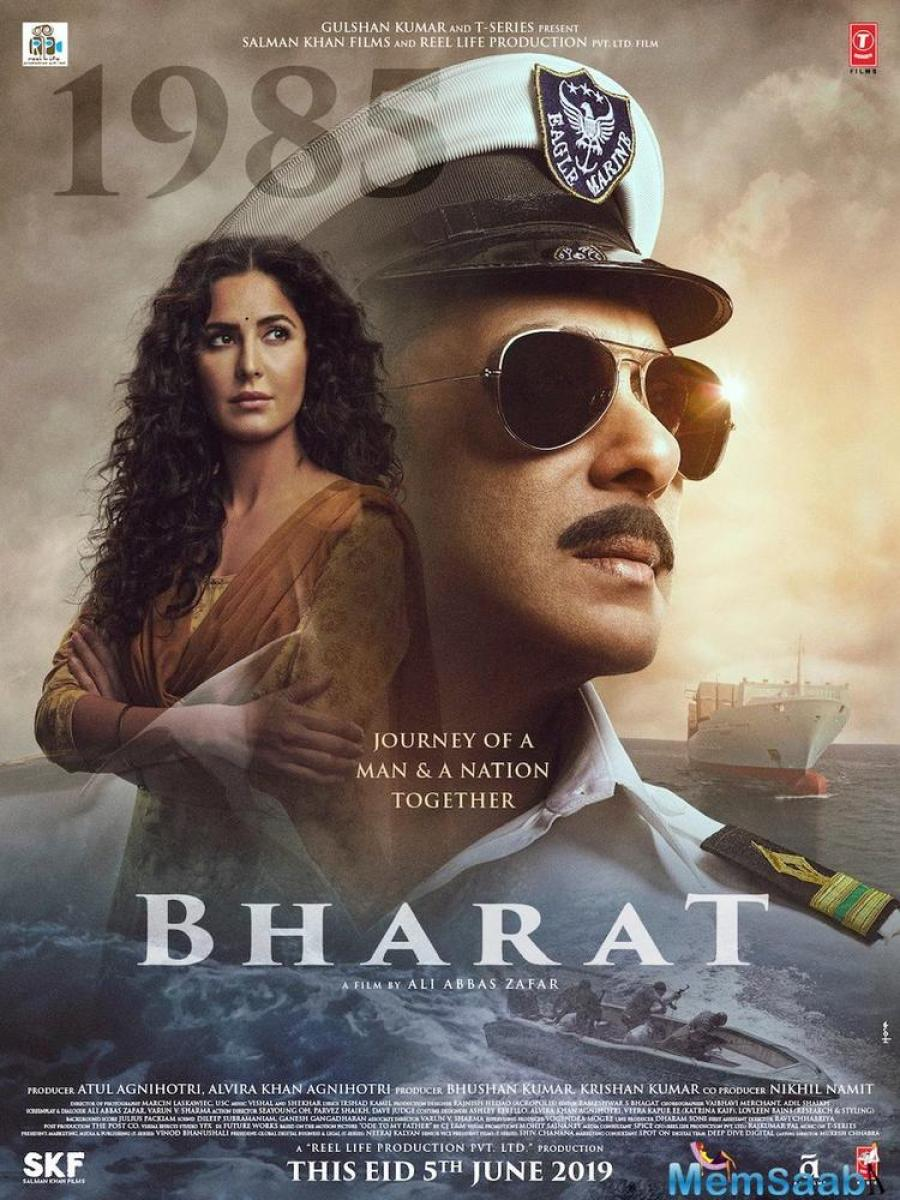 Bharat will trace the journey of a man spanning six decades, hence, Salman Khan will be seen sporting six varied looks through the years of his life.