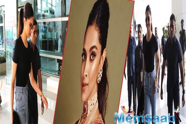The leading lady of Bollywood Deepika Padukone wrapped the first schedule of Chhapaak in Delhi.