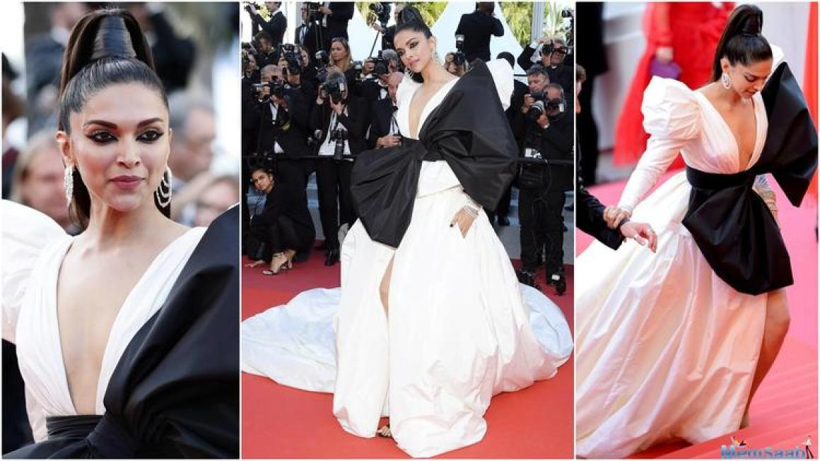 Over the years, Deepika has turned in her fashion A -game and the global icon does it again at Cannes, this year.