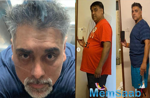 Well, this wasn't enough to shock us all, the actor also shared his before and after pictures, which has taken the internet by storm.