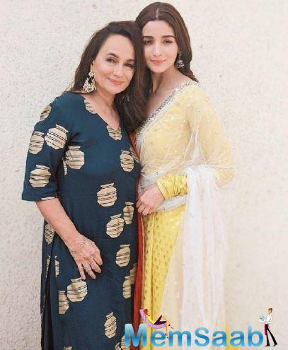 Alia Bhatt's mom Soni Razdan often takes to Twitter to voice her opinion or share anecdotes from her filming days. And on Wednesday she did just that.