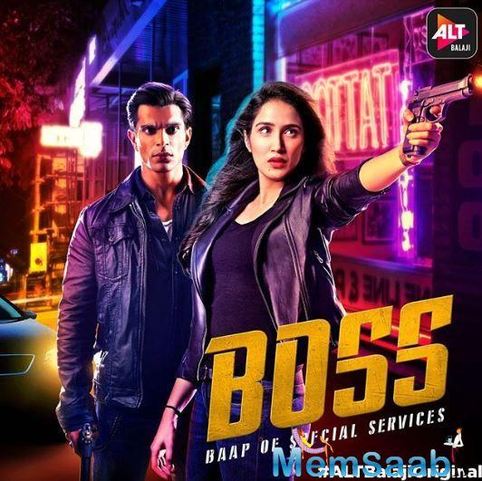 """A poster was shared on official page of ALT Balaji and they captioned,  """"Woh case solve karne ke liye criminals ki tarah sochta hai. And she believes in the rules... Are you ready to meet the #BOSS – Baap of Special Services?"""""""