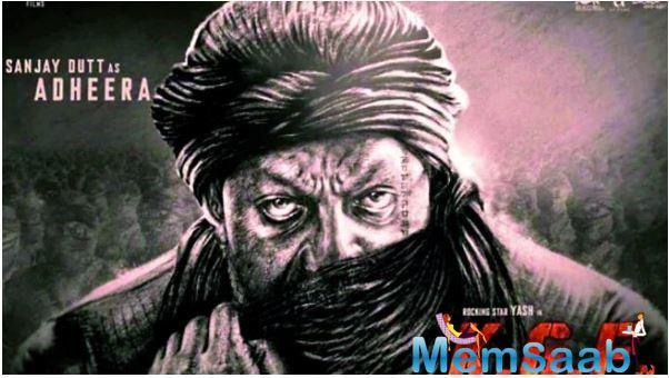 The actor will be seen playing a dark character Adheera in KGF 2, as well as Afghan King Ahmad Shah Durrani in Ashutosh Gowarikar's Panipat — a movie based on the third battle of Panipat.