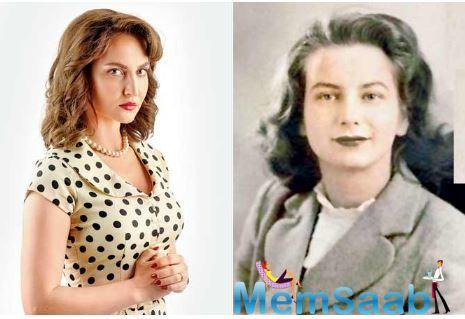 Elli AvrRam plays Sylvia Nanavati in the ALTBalaji web series, The Verdict, based on the 1959 Nanavati case.