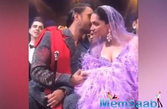 Deepika Padukone and Ranveer Singh are quite active when it comes to social media.