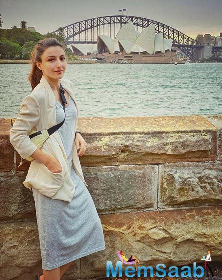 Soha Ali Khan says taking care of health is number one on her priority list.