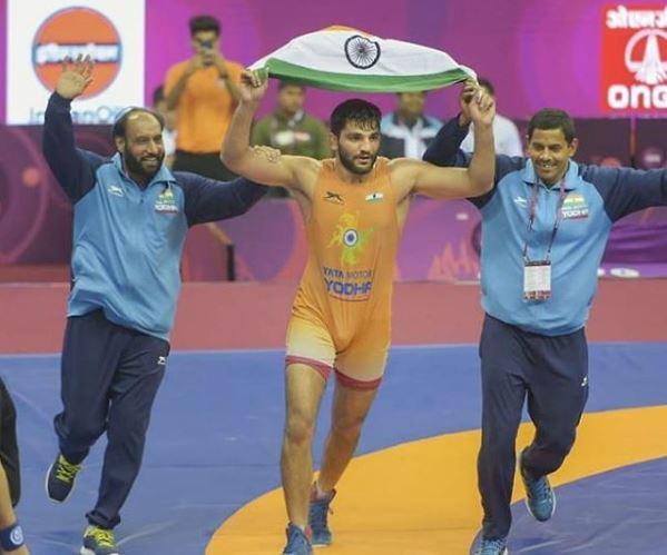 Sunil made an impressive comeback in his semi-final bout to reach the final