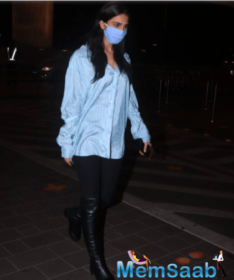 The actress is glad that the industry is looking to restart after taking a very hard hit due to the pandemic.