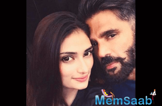 This note proves that Athiya sure is daddy's little girl! A number of Athiya and Suniel's fraternity friends and acquaintances wished the actress on the post.