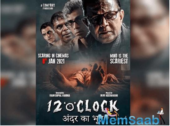 Titled '12 'o' Clock', the film stars Mithun Chakraborty, Makrand Deshpandey, Divya Jagdale, Manav Kaul, Ali Azgar, Ashish Vidyarthi, Dalip Tahil, Flora Saini and debutant Krshna Gautam.