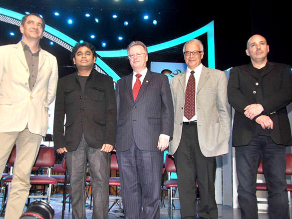 A R Rahman performs with German Orchestra