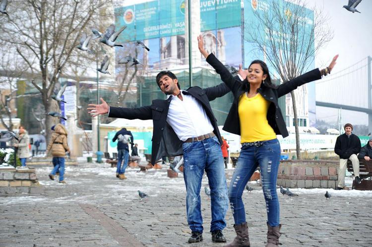 Aadi,Shanvi Lovely Telugu Cinema cute still