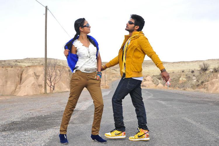 Aadi and Shanvi Telugu Cinema Lovely Photo