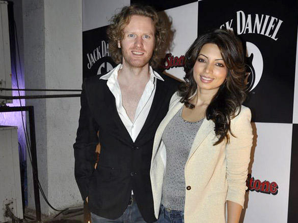 Alex O' Neil and Shama Sikandar at Jack Daniels Rock Awards 2012