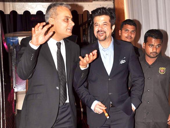 Anil Kapoor Smile face still at Rakesh Jhunjhunwala's 25th wedding anniversary Bash