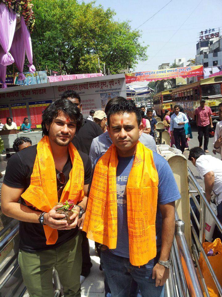 Blood Money Team at Pune