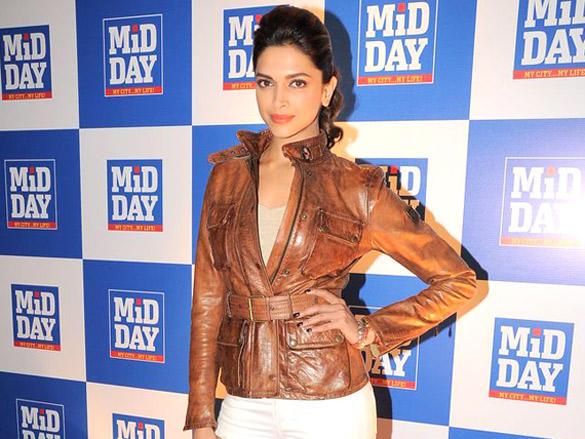 Deepika Padukone at Launch of Mid-Day Mumbai Anthem