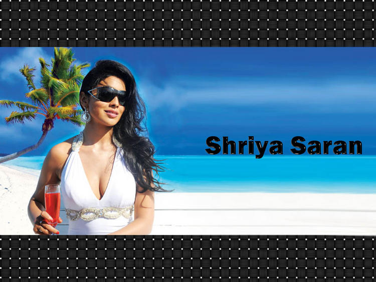 Gorgeous Beauty Shriya Saran Still