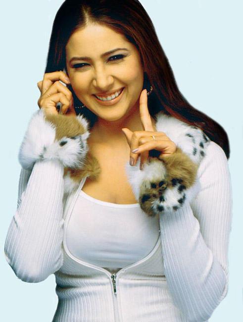 Kim Sharma Sweet Smile Beauty Still