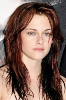 Kristen Stewart Red Hair Nice Face Look