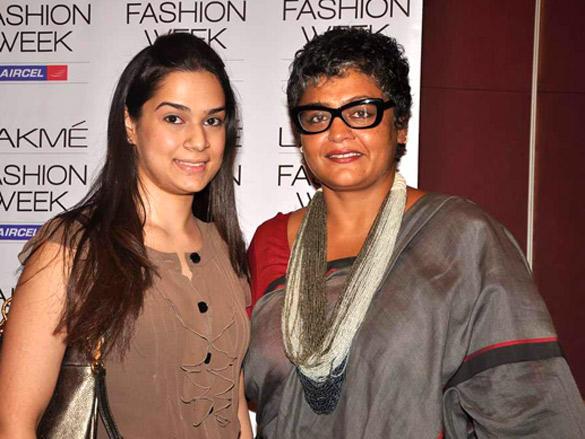 Lakme Fashion Week  designers meet 2012