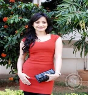 Neha Sharma Beautiful Face Look With Red Tops