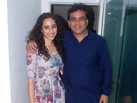 Paresh Rawal,Namrata Purohit Poses To Photoshoot