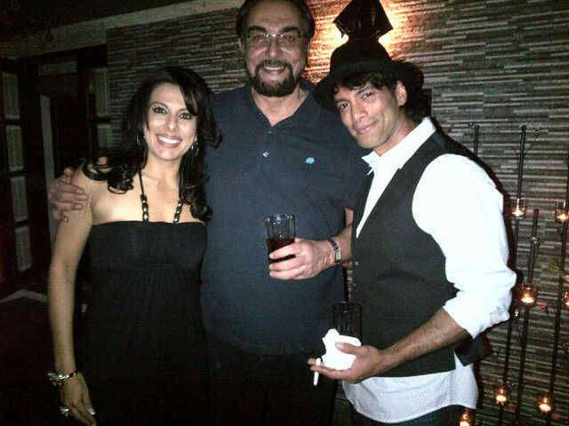 Pooja Bedi in Party Organize's For Her Bigg Boss Buddies