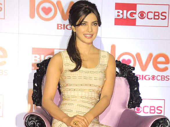Priyanka Chopra Gorgeous Photo at Love BIG CBS Show Launch