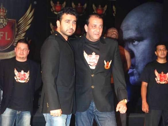 Sanjay Dutt and Businessman Raj Kundra Launching Super Fight League