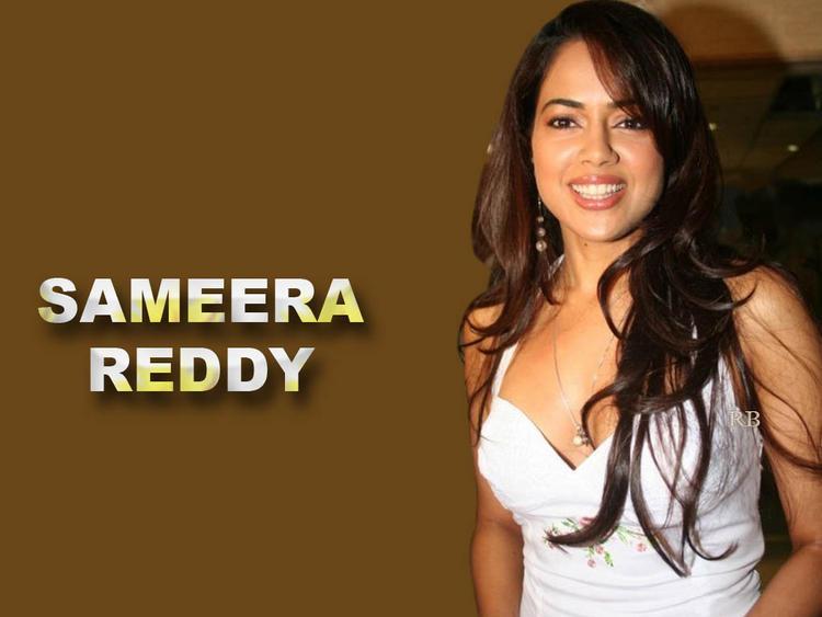 Smilling Beauty Sameera Reddy Wallpaper