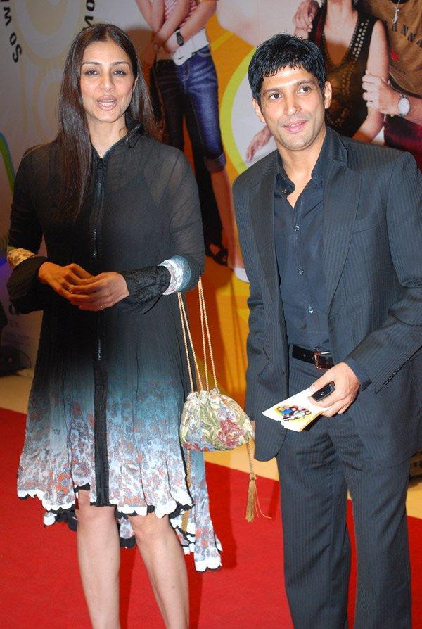 Tabu Khan Mini Dress Still With Farhan Akhtar