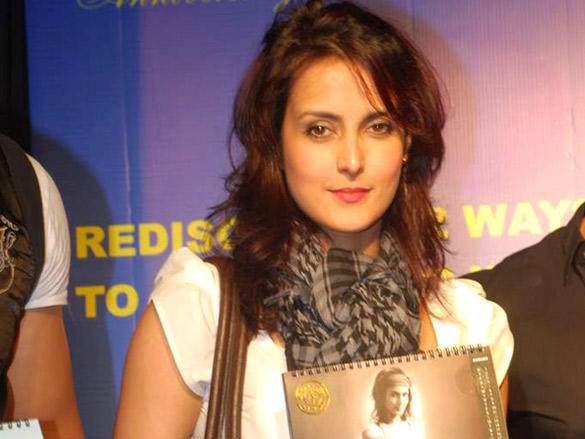 Tulip Joshi at Gold Gym Calendar Launch 2012