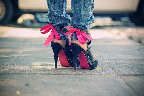 High Heels With Jeans