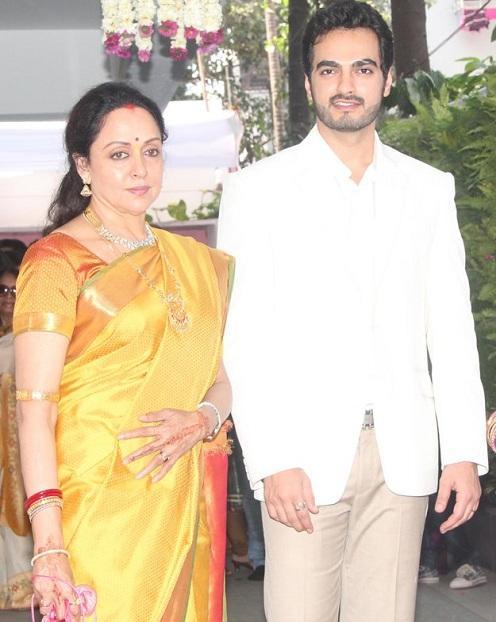 Hema With Bharat