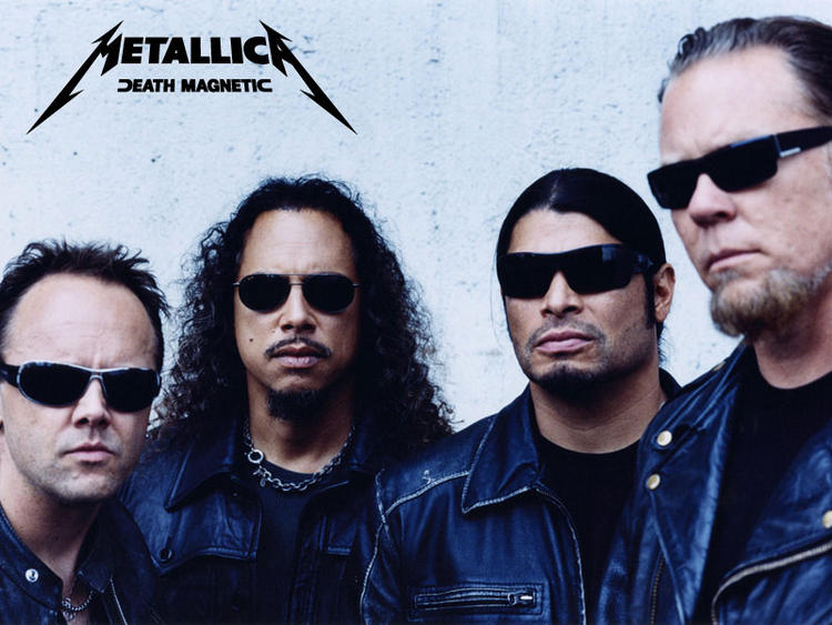 Metallica Rock Band From Los Angeles