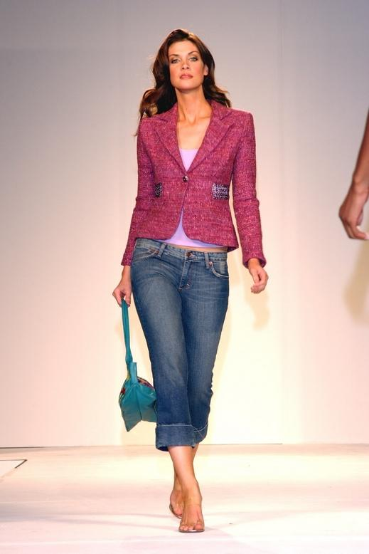 Jeans With Pink Jacket