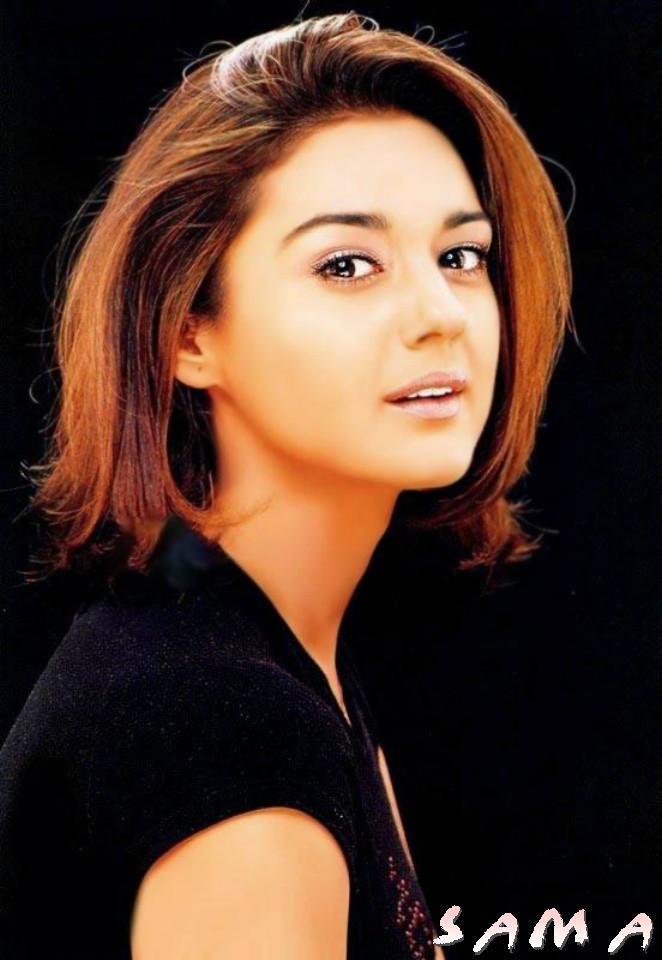 Image result for preity zinta short hair